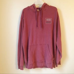 Vans | Off The Wall Maroon Hoodie